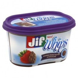 JIF Whips Chocolate Peanut Butter (450g) (BEST-BY 01-11-2019)