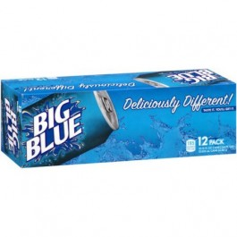 Big Blue Soda 12 Cans FridgePack
