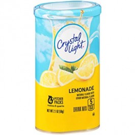 Crystal Light Drink Mix, Lemonade (4-pack) (59g)