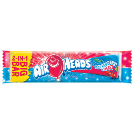Air Heads 2-IN-1 Big Bar Blue Raspberry & Cherry (43g)
