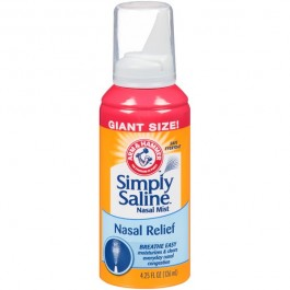 Arm & Hammer Simply Saline Nasal Relief (126ml) USfoodz