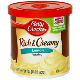 Betty Crocker Rich & Creamy Lemon Frosting