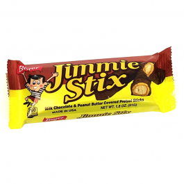 Boyer Jimmie Stix Milk Chocolate & Peaunut Butter (51g)
