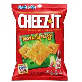 Cheez-it Grab n' Go, Hot & Spicy (85g)