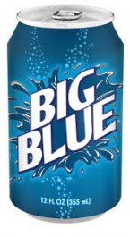 Big Blue Soda (355ml)