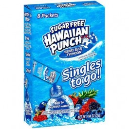 Hawaiian Punch Berry Blue Typhoon Sugar Free (27g)