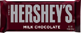 Hershey's Milk Chocolate (43 g)