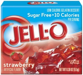 Jell-Strawberry Gelatin Dessert (9g)