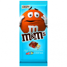 Milk chocolate (sugar, cocoa butter, skim milk, chocolate, milkfat, lactose, soy lecithin, pfpr, artificial flavor. M&M's Minis milk chocolate candies: Milk chocolate, sugar, chocolate, skim milk, cocoa butter, lactose, milkfat, soy lecithin, salt, artifi