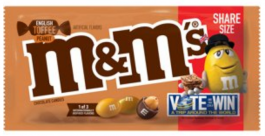 M&M's English Toffee Peanut, Share Size (92g)
