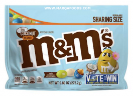 M&M's Thai Coconut Peanut, Sharing Size (272g)