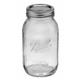 Ball Mason Regular Mouth Quart Glass Canning Jar (32OZ)
