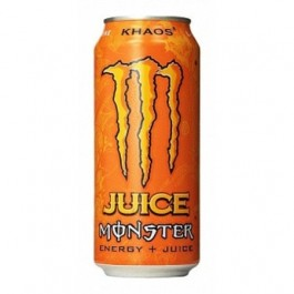 Monster Khaos Orange Energy + Juice (473ml)