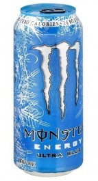 Monster Punch Energy Drink Ultra Blue
