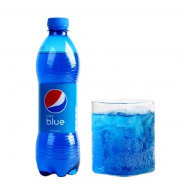 Pepsi Blue, Bottle (450ml)