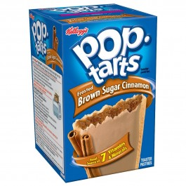 Kellogg's PopTarts Frosted Brown Sugar Cinnamon