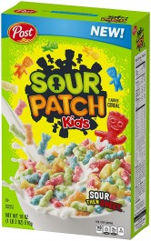 Post Sour Patch Kids Cereal (311g)