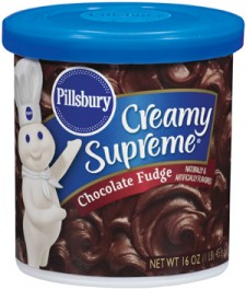 Pillsbury Creamy Supreme Chocolate Fudge Frosting (453g)