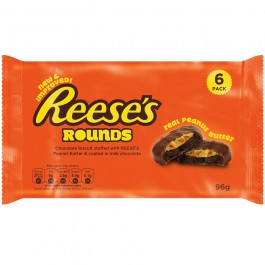 Reese's Rounds, Real Peanut Butter (6-Pack) (79g)