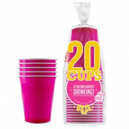 The Original Cup Pink - 20 Cups (532ml)