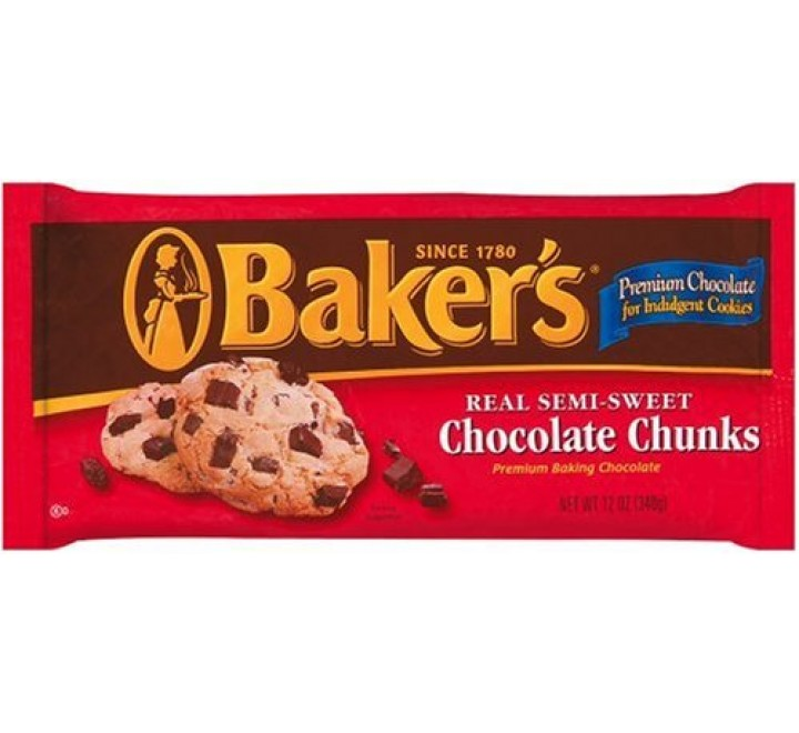 Baker's Semi-Sweet Chocolate Chunks (340g)