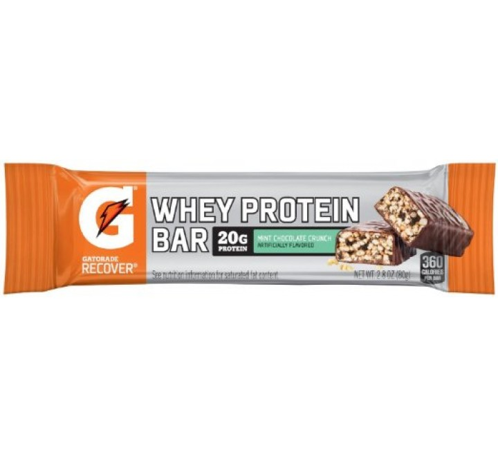 Gatorade Recover mint  Chocolate Crunch Whey Protein Bar (80g)