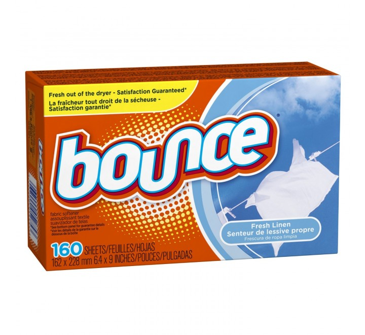 Bounce Fresh Linen Fabric Softener Sheets 40 Count
