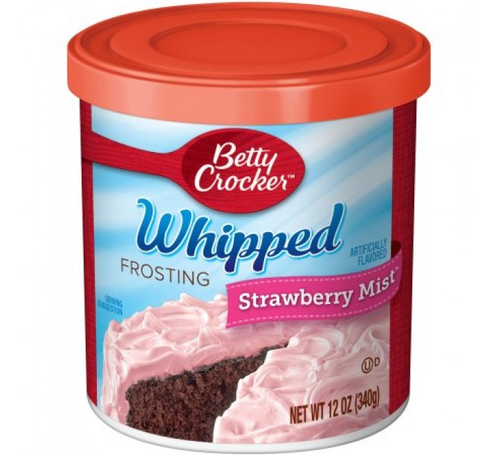 Betty Crocker Whipped Frosting Strawberry Mist (340g)