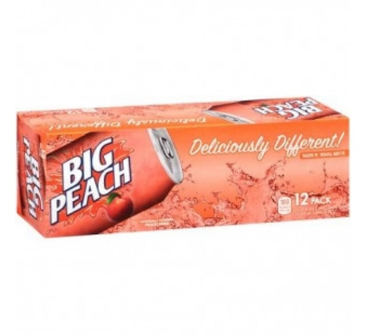 Big Peach Soda - Fridge Pack (12x355ml)