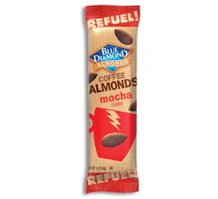 Blue Diamond Coffee Almonds Mocha Flavored (43g)