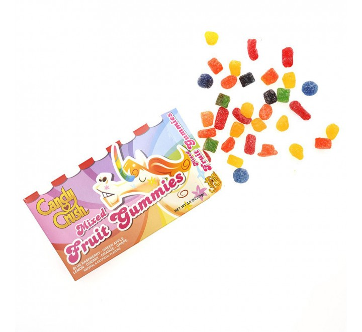 Candy Crush Mixed Fruit Gummies (99g)