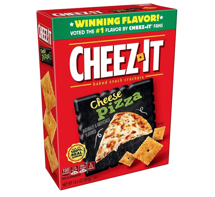 Cheez-It Baked Snack Crackers, Cheeze Pizza (351g)