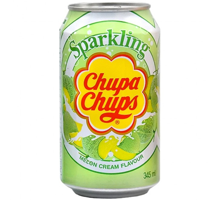 Chupa Chups Sparkling, Melon Cream (345ml)