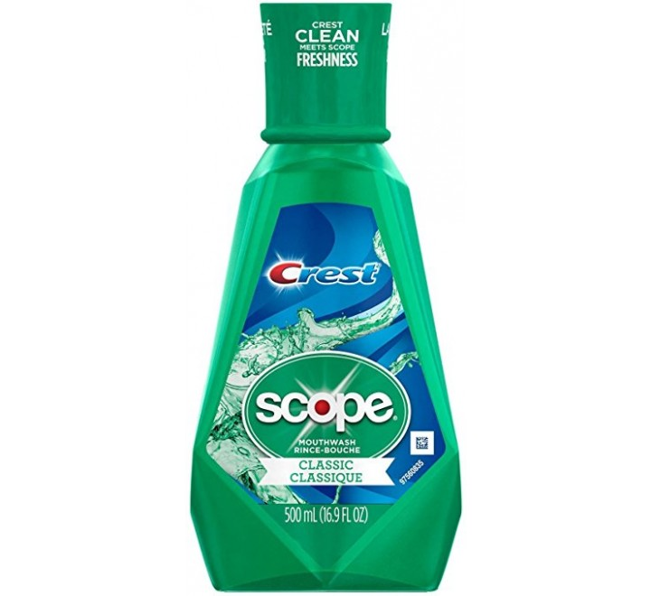 Crest Scope Mouthwash Classic (250ml)