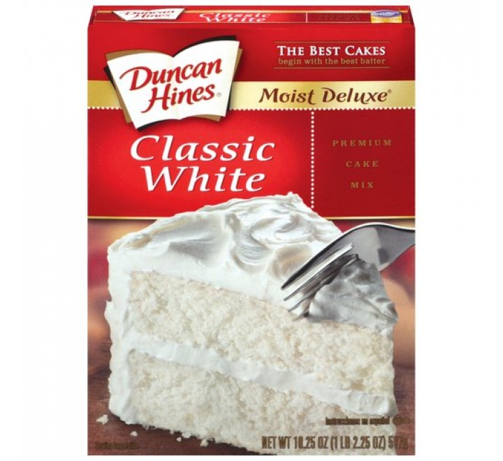 Duncan Hines Moist Deluxe Classic White Cake Mix