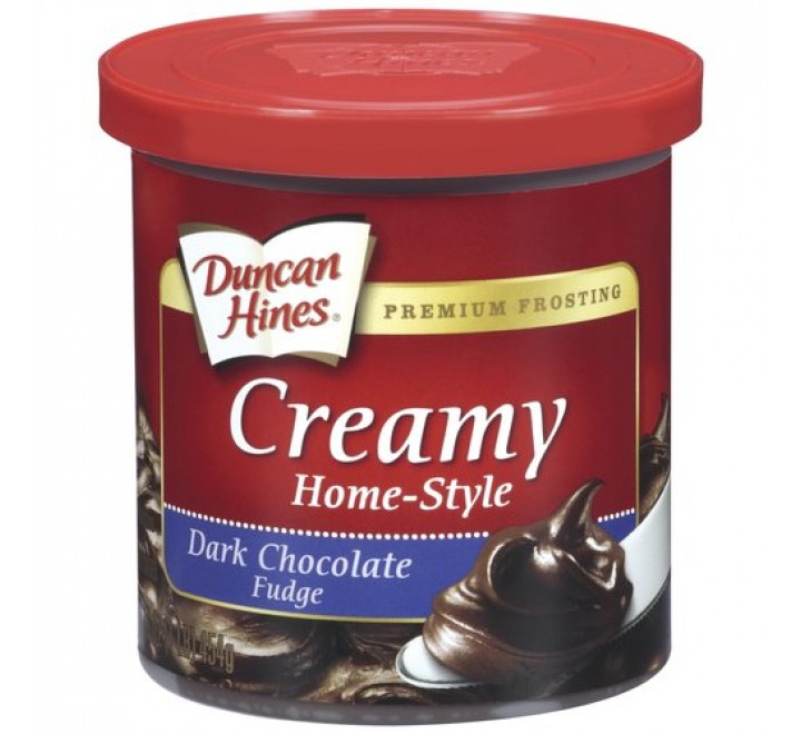 Duncan Hines Frosting, Dark Chocolate Fudge (454g)