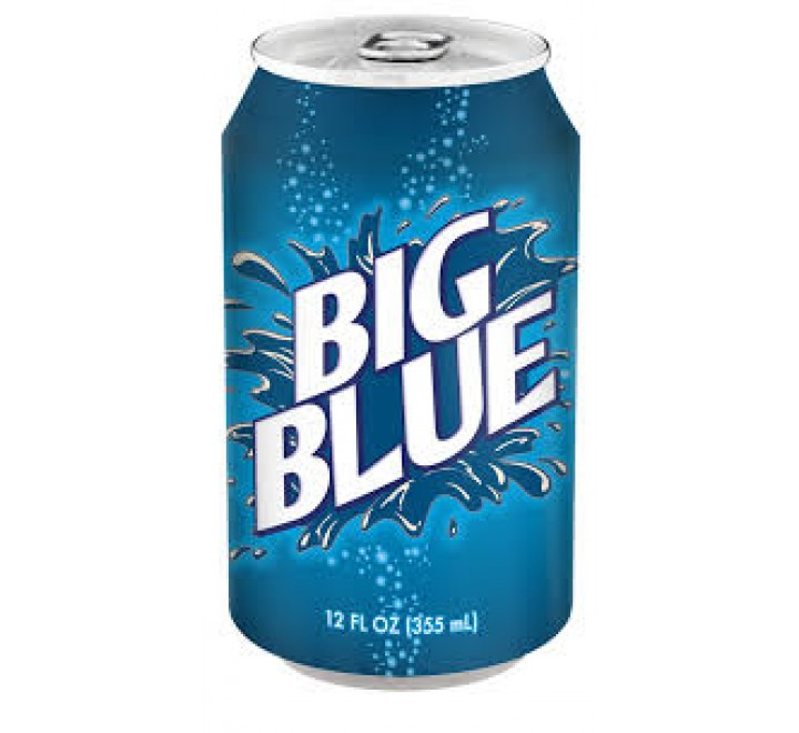 Big Blue Soda (355ml) USfoodz