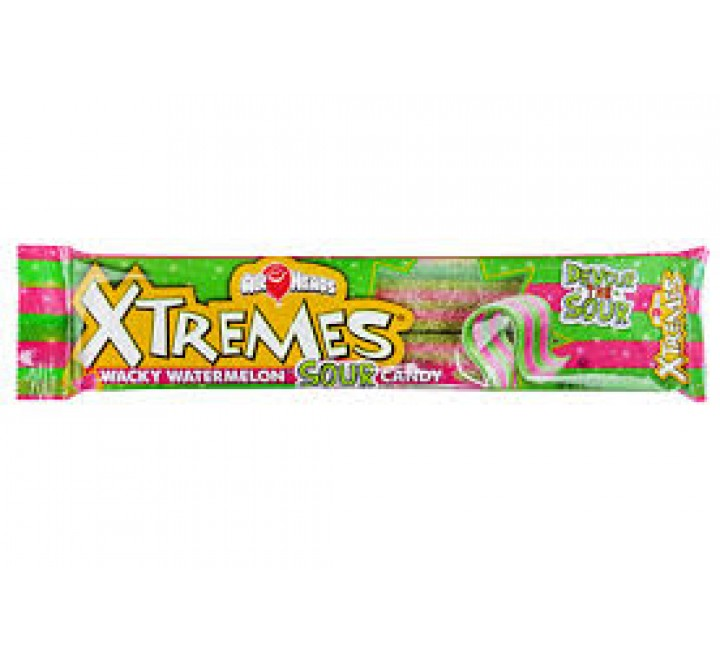 Air Heads Xtremes Wacky Watermelon Sour Candy (57g)