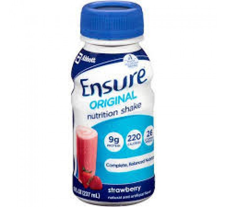 Ensure Original Milk Strawberry Nutrition Shake (237ml)