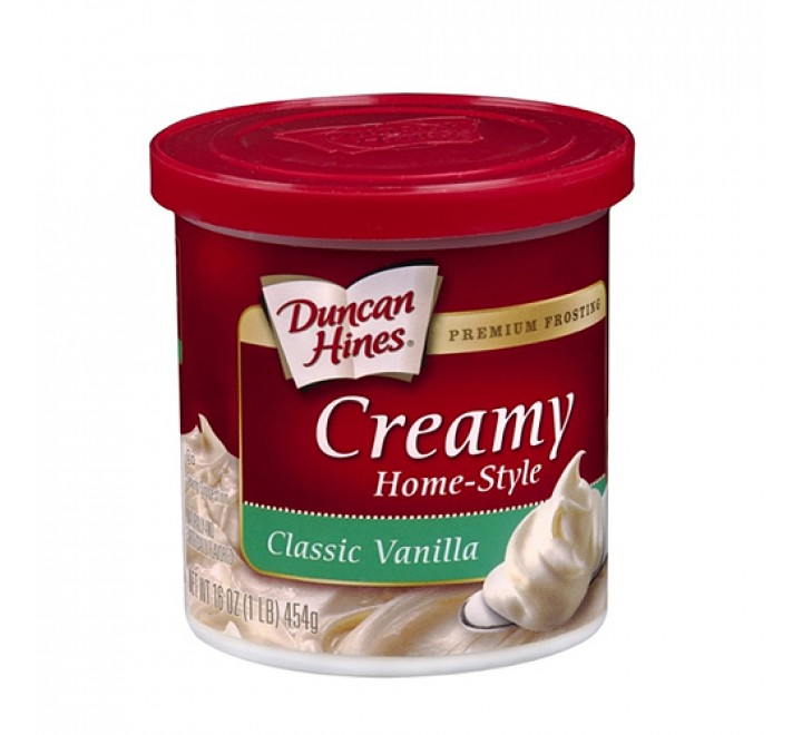 Duncan Hines Creamy Home-Style Classic Vanilla Frosting (454g)