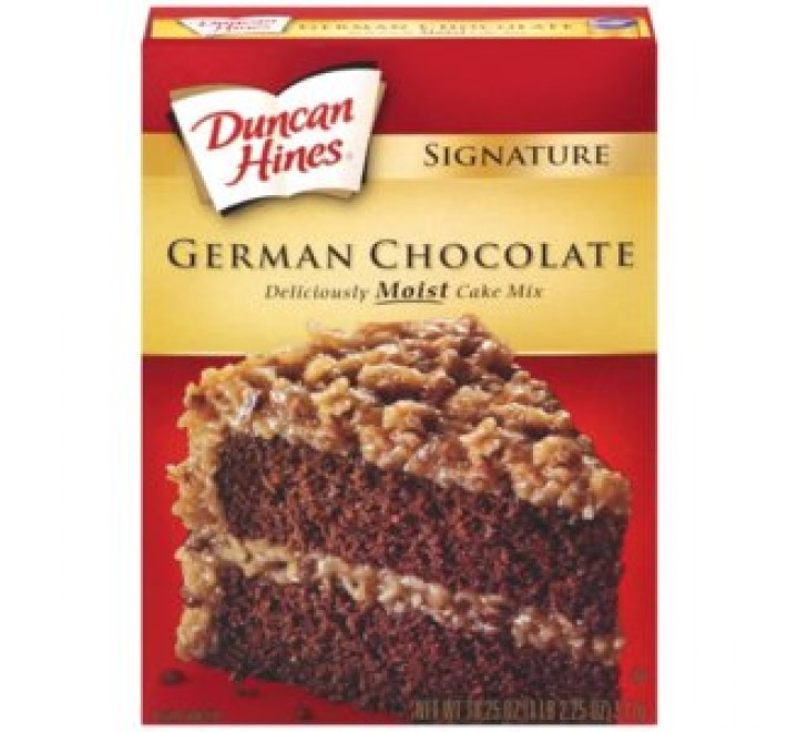 Duncan Hines German Chocolate Cake Mix