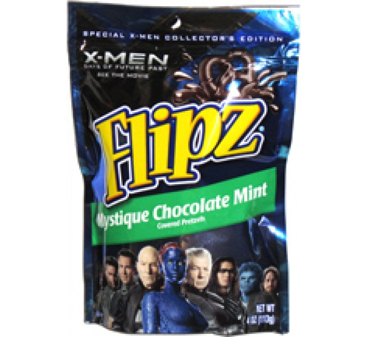 Flipz Mystique Chocolate Mint Pretzel (113g)