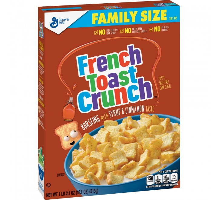 French Toast Crunch Cereal (513g)