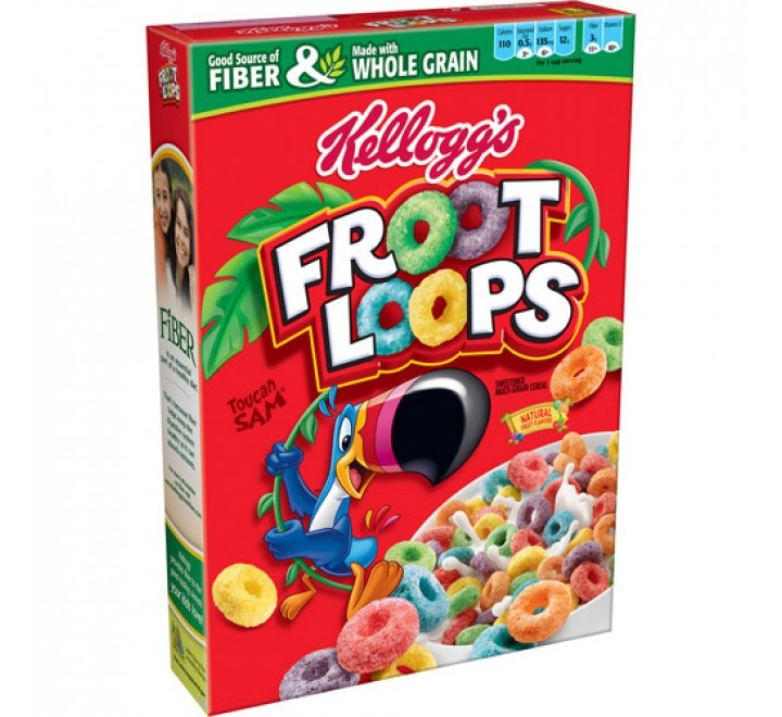Kellogg's Froot Loops, Large (550g)
