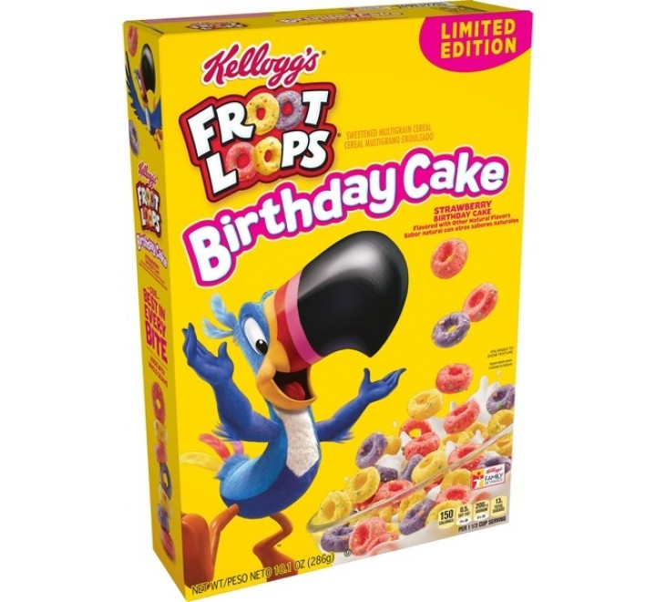 Brilliant Froot Loops Birthday Cake Order Cereals Online Usfoodz Birthday Cards Printable Riciscafe Filternl