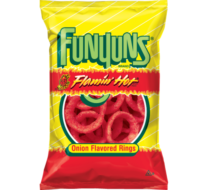FritoLay FunYuns Flamin' Hot (21g)