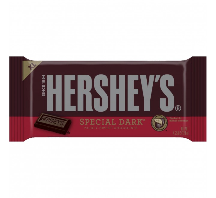 Hershey's Special Dark Mildly Sweet Chocolate Giant Bar (192g)