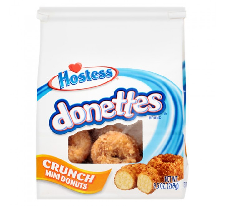 Hostess Donettes Crunch Mini Donuts (269g) USfoodz