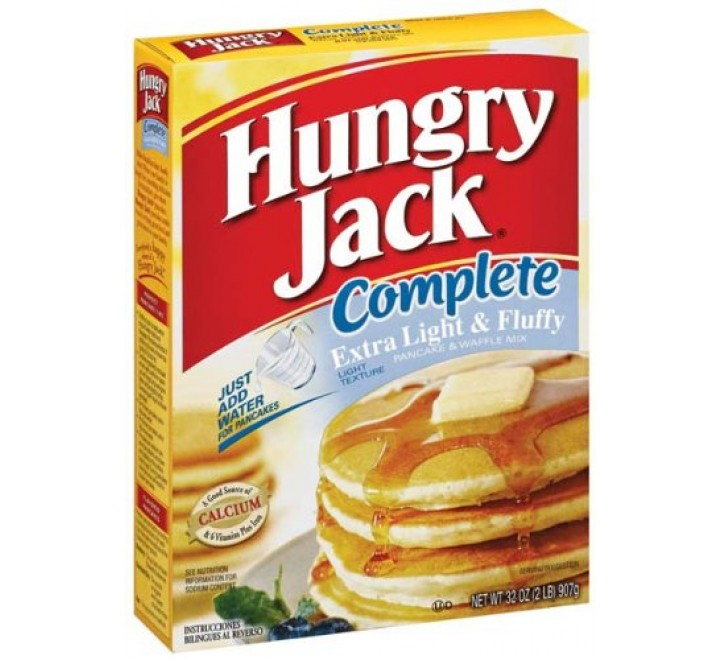 Hungry Jack Complete Extra light & Fluffy Pancake & Waffle Mix (907g)