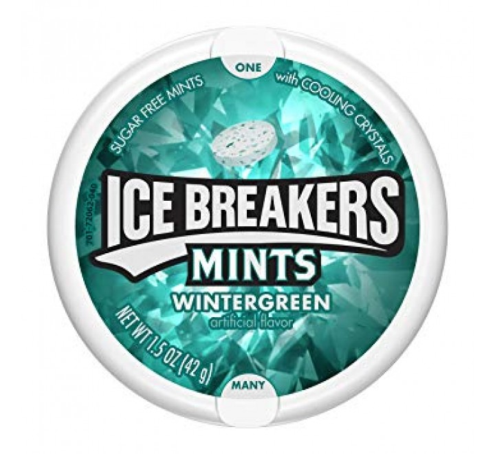 Ice Breakers Wintergreen Sugar Free Mints